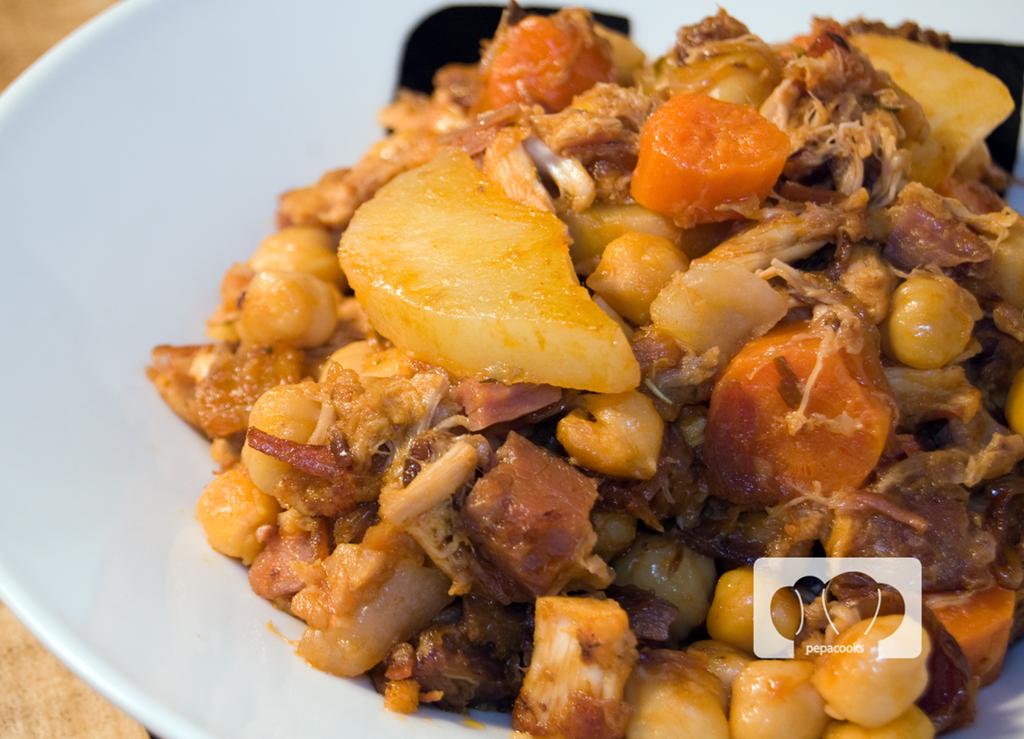 Receta de ropa vieja sobras de cocido por pepa cooks - Salsa para bogavante cocido ...