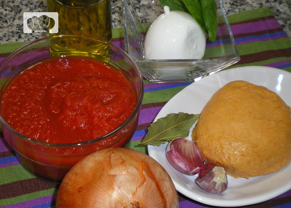 gnocchis al horno con tomate