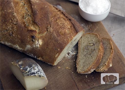 receta de pan de nueces