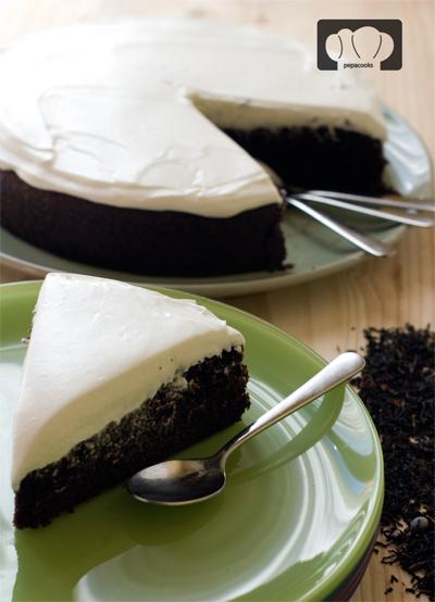 tarta guiness y chocolate