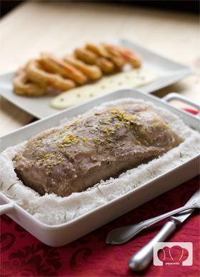 receta de lomo de cerdo asado a la sal