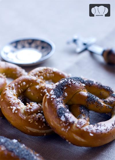 receta de pan prezel pretzel