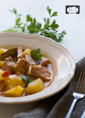 receta de marmitako de atún