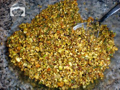 receta de cabrito asado al horno con pistachos