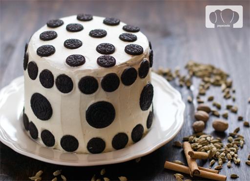 receta de tarta de queso con Oreo y chocolate