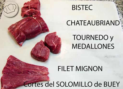 El solomillo de buey o vaca pepa cooks - Como cocinar solomillo de ternera ...