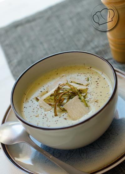receta de Crema de esparragos trigueros