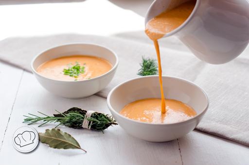 receta de Gazpacho cremoso
