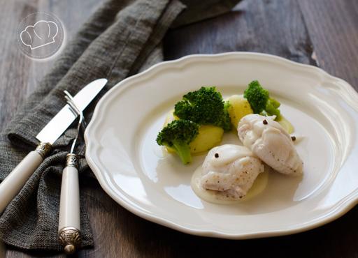 receta de Filetes de gallo pescado al cava