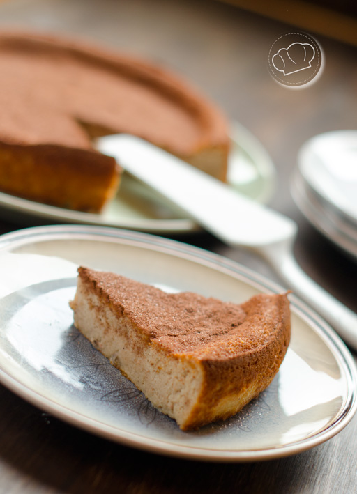 receta de Tarta de castañas