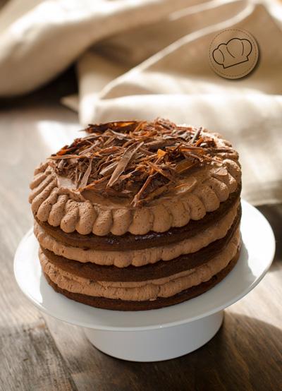 receta de Tarta de chocolate y calabacin