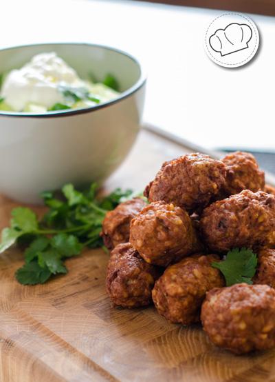 receta de Kibbeh. Albondigas libanesas de cordero