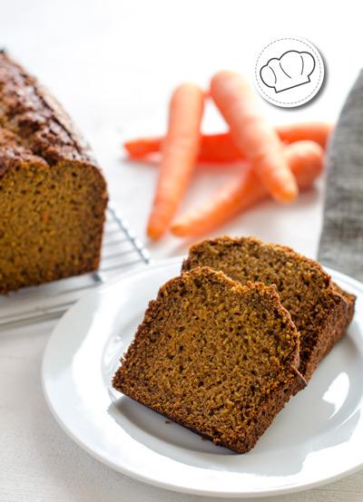 receta de Bizcocho de zanahoria y calabacín