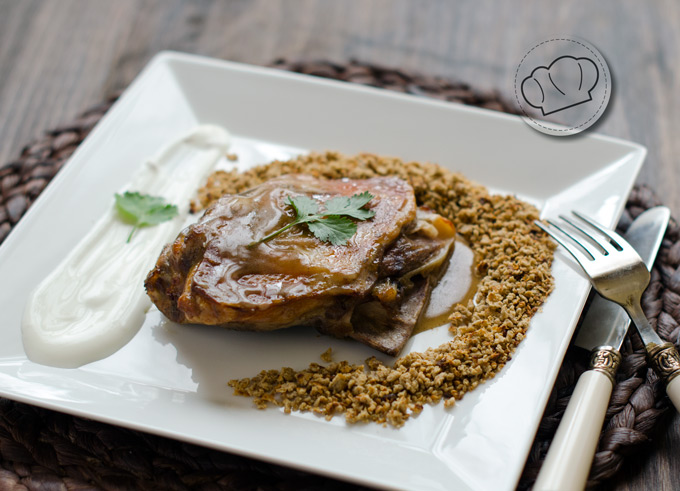 receta de cordero asado tandoori